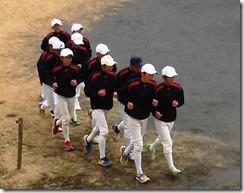 野球部ジョギング1(前)